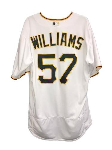 Photo of Trevor Williams Game-Used Jersey