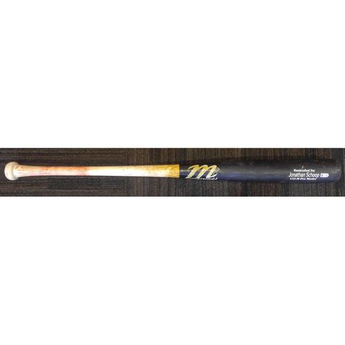 Photo of Jonathan Schoop - Broken Bat: Game-Used