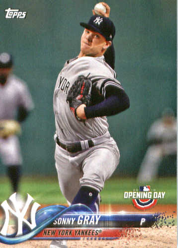 Photo of 2018 Topps Opening Day #177 Sonny Gray