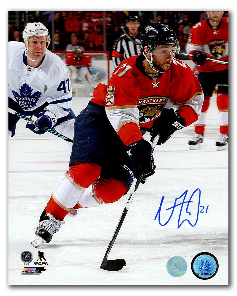 Vincent Trocheck Florida Panthers Autographed Hockey Sniper 8x10 Photo