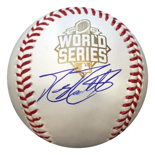 Photo of Autographed World Series Baseball: Mike Moustakas