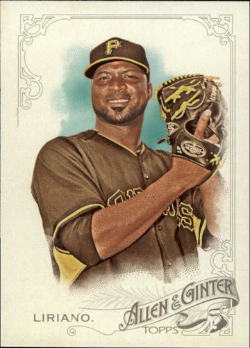 Photo of 2015 Topps Allen and Ginter #87 Francisco Liriano