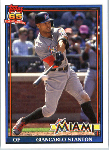 Photo of 2016 Topps Archives #257 Giancarlo Stanton
