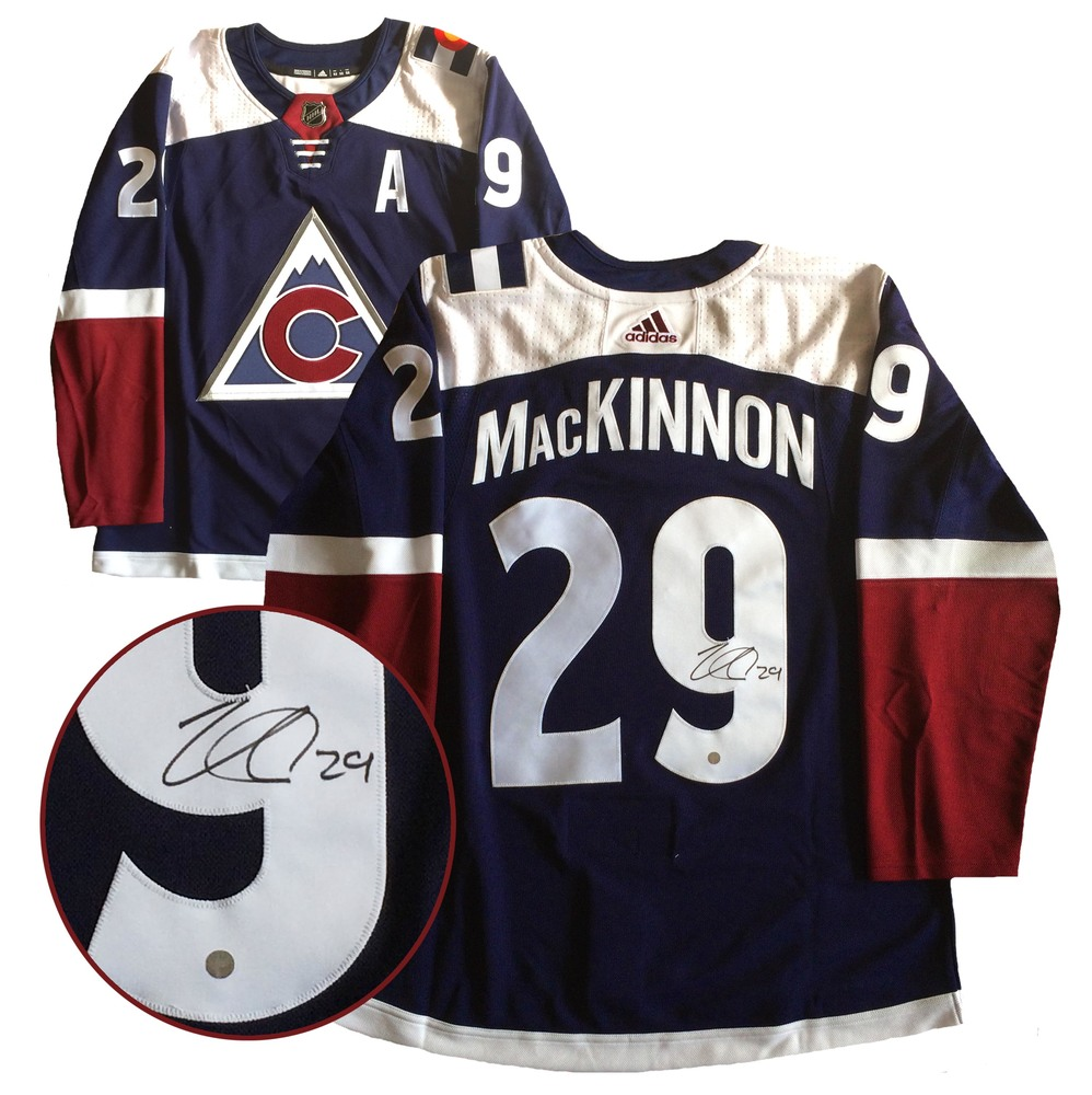 MacKinnon,N Signed Jersey Avalanche Pro Third 2018-2019 Adidas