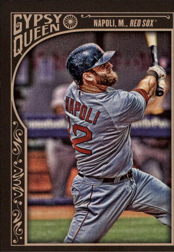 Photo of 2015 Topps Gypsy Queen #200 Mike Napoli