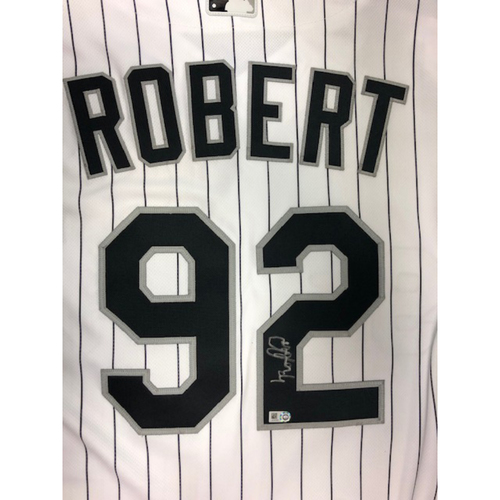 Photo of Luis Robert Autographed Jersey Size - 46