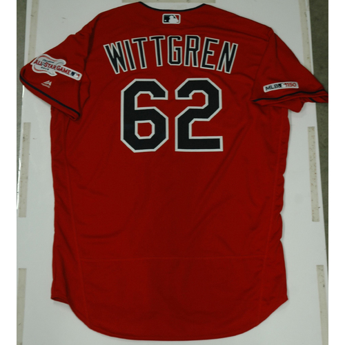 Photo of Nick Wittgren 2019 Team Issued Alternate Home Jersey