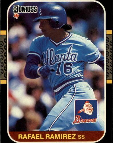 Photo of 1987 Donruss #202 Rafael Ramirez