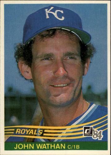 Photo of 1984 Donruss #466 John Wathan