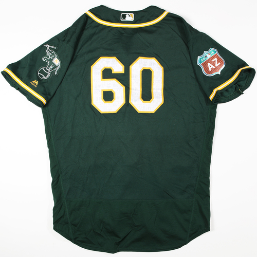 Photo of 2016 Spring Training - Spring Training Game Used Jersey - Bob Melvin (Athletics)- Size- 50