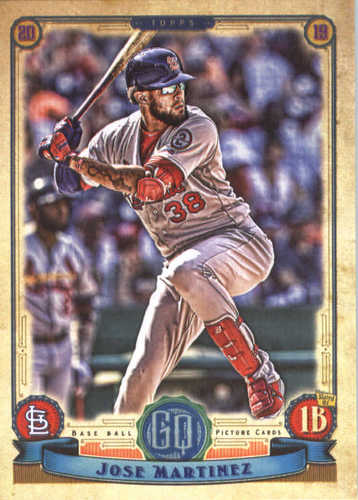 Photo of 2019 Topps Gypsy Queen #266 Jose Martinez