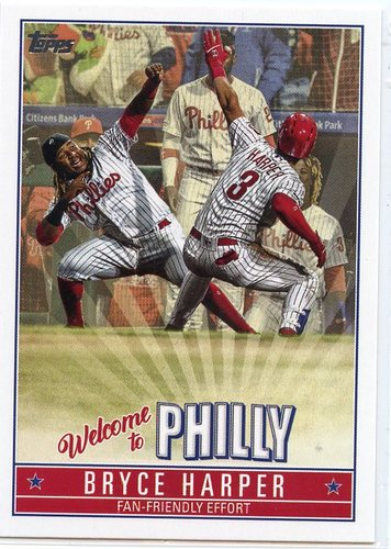 Photo of 2019 Topps Update Bryce Harper Welcome to Philly #BH1 Bryce Harper