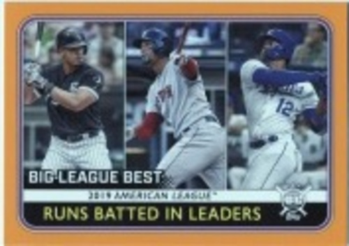 Photo of 2020 Topps Big League Orange #245 Jorge Soler/Xander Bogaerts/Jose Abreu LL