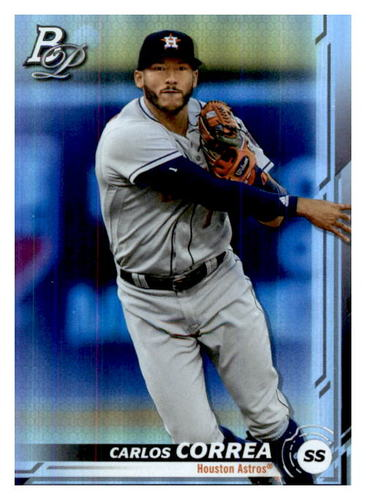 Photo of 2019 Bowman Platinum #8 Carlos Correa