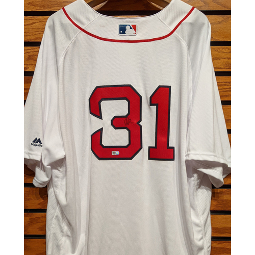Photo of Drew Pomeranz #31 Autographed Home White Jersey