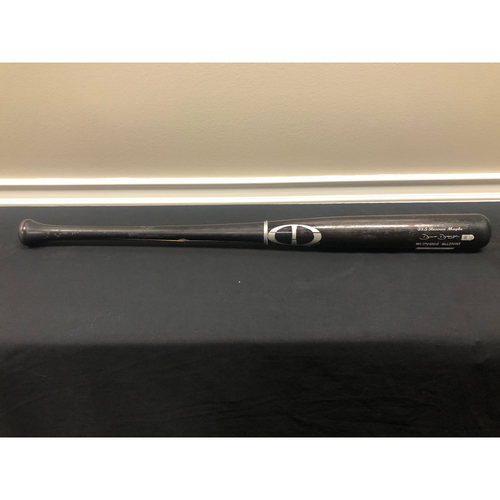 Photo of Derek Dietrich -- Team-Issued Broken Bat -- 2019 Season