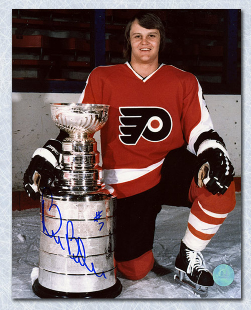 Bill Barber Philadelphia Flyers Autographed Stanley Cup 8x10 Photo