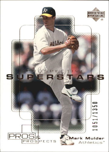 Photo of 2000 Upper Deck Pros and Prospects #106 Mark Mulder PS