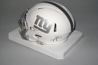 NFL - GIANTS JANORIS JENKINS SIGNED GIANTS ICE MINI HELMET
