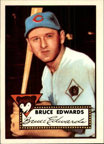 Photo of 1983 Topps 1952 Reprint #224 Bruce Edwards