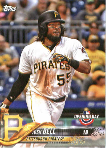 Photo of 2018 Topps Opening Day #182 Josh Bell