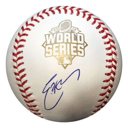 Photo of Autographed World Series Baseball: Eric Hosmer