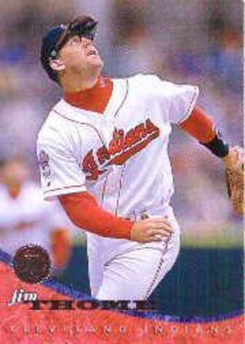 Photo of 1994 Leaf #382 Jim Thome -- Newest Hall of Famer Class of 2018