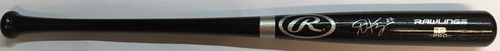 Photo of Andrew Knizer Autographed Black Rawlings Bat