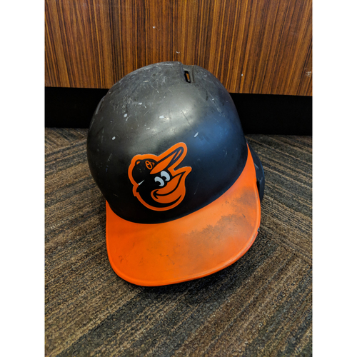 Photo of Mark Trumbo - Road Batting Helmet: Team-Issued