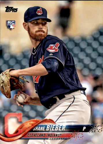 Photo of 2018 Topps Update #US198 Shane Bieber RC