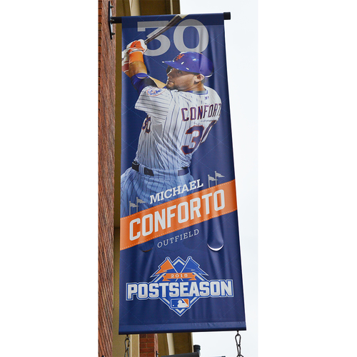 Photo of Michael Conforto #30 - Citi Field Banner - 2015 Season