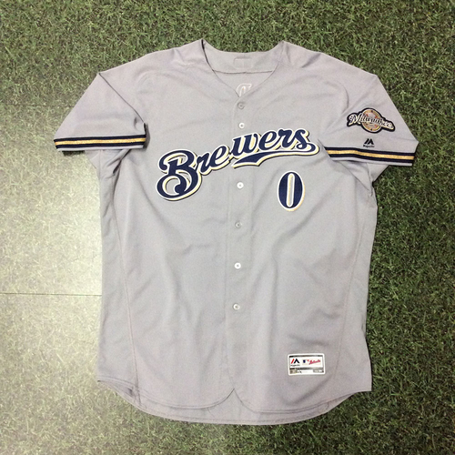 Photo of Ed Sedar 2018 Game-Used Road Grey Jersey