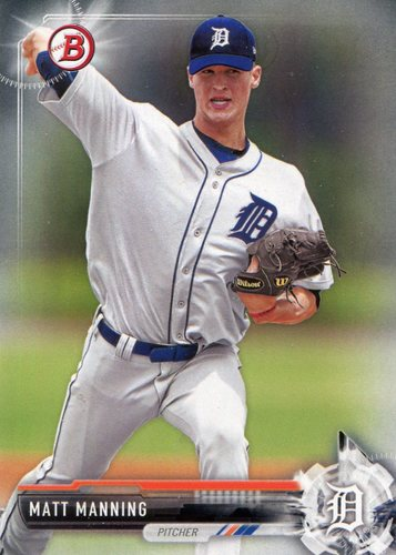 Photo of 2017 Bowman Prospects #BP122 Matt Manning