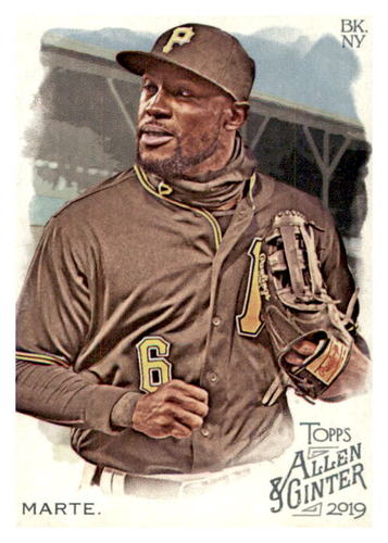 Photo of 2019 Topps Allen and Ginter #239 Starling Marte