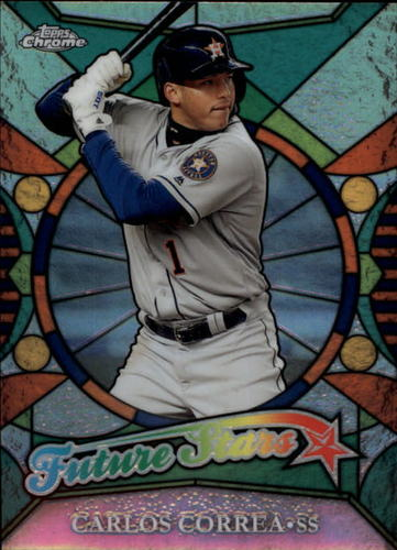Photo of 2016 Topps Chrome Future Stars #FS20 Carlos Correa