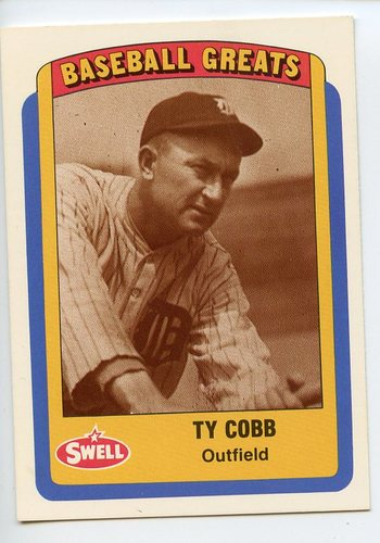 Photo of 1990 Swell Baseball Greats #15 Ty Cobb
