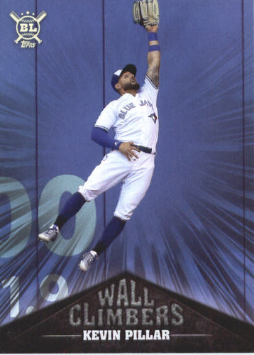 Photo of 2019 Topps Big League Wall Climbers #WC1 Kevin Pillar