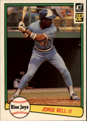 Photo of 1982 Donruss #54 Jorge Bell RC/George Bell