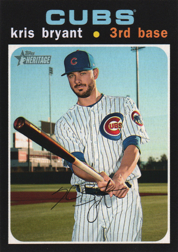 Photo of 2020 Topps Heritage #291 Kris Bryant