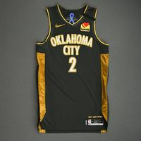 Shai Gilgeous-Alexander - Oklahoma City Thunder - Game-Worn City Edition Jersey - 2019-20 Season