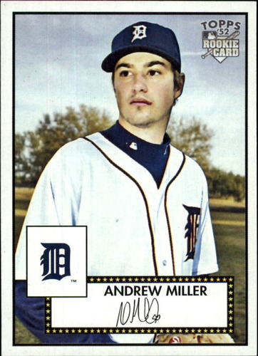 Photo of 2007 Topps '52 #125 Andrew Miller RC