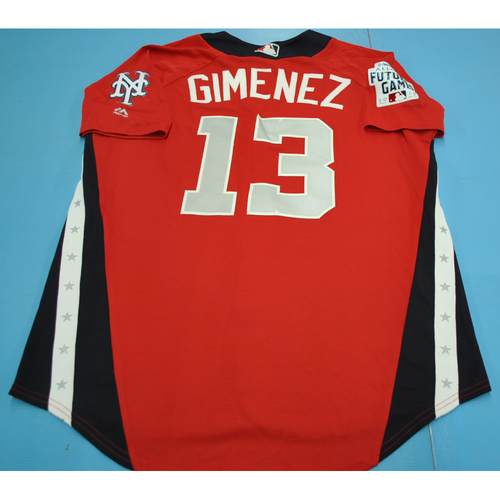 Photo of 2018 Futures Game - Andres Gimenez Batting Practice Worn Jersey
