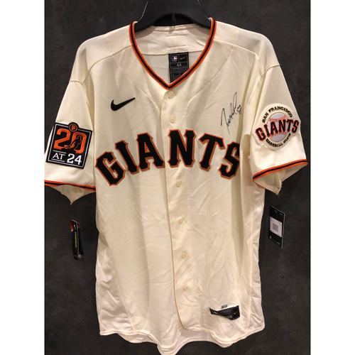 Giants Community Fund: Dereck Rodriguez Autographed Jersey