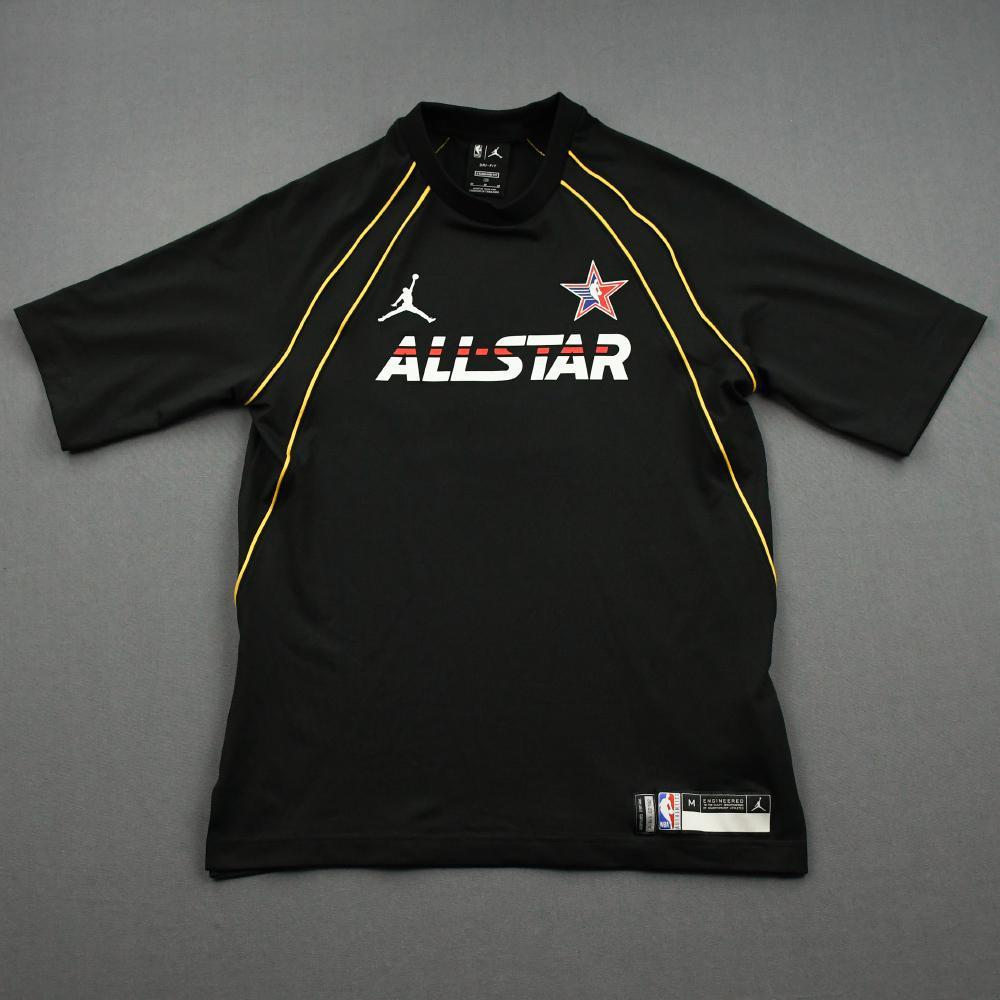 Mike Conley - Game-Issued 2021 NBA All-Star Short-Sleeved Shooting Shirt