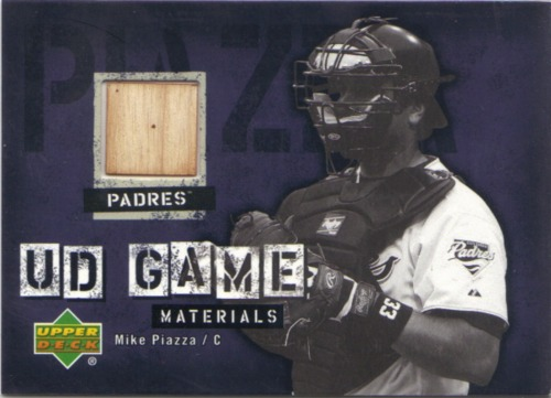 Photo of 2006 Upper Deck UD Game Materials #MP2 Mike Piazza Bat S2