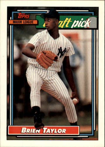Photo of 1992 Topps #6 Brien Taylor RC