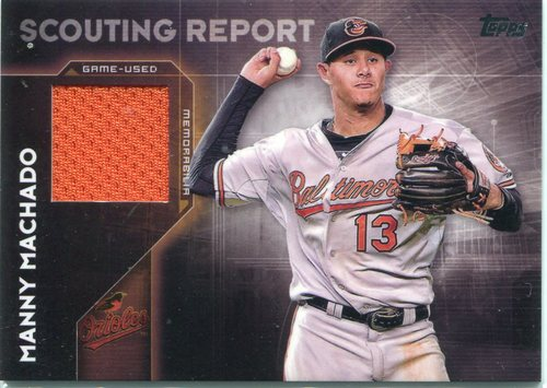 Photo of 2016 Topps Scouting Report Relics  Manny Machado