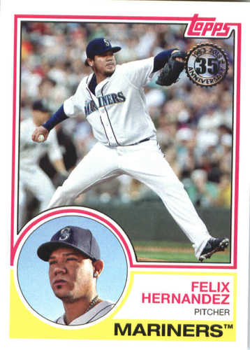 Photo of 2018 Topps '83 Topps #8361 Felix Hernandez