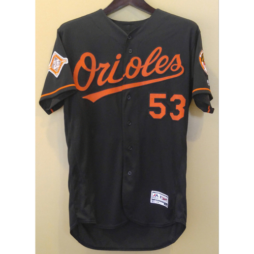 Photo of Zach Britton - Friday Night Jersey: Game-Used