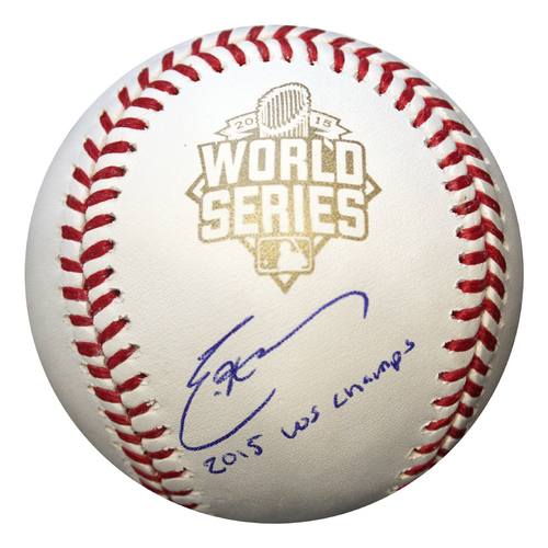 Photo of Autographed World Series Baseball: Eric Hosmer with Inscription